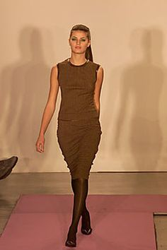 DKNY Fall 2000 Ready-to-Wear Fashion Show - Donna Karan, Isabeli Fontana