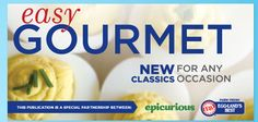 Free e-Cookbook Easy Gourmet by Eggland's Best (savings of 9.99)