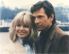 Dempsey and Makepeace - Glynis Barber and Michael Brandon (now husband and wife).