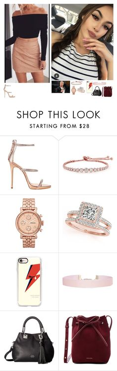 """""""🇲🇽Sammy 🇲🇽-From Orlando To Jacksonville"""" by banks-on-it ❤ liked on Polyvore featuring Giuseppe Zanotti, WWE, CARAT* London, FOSSIL, Allurez, Casetify, Humble Chic, Vince Camuto and Mansur Gavriel"""