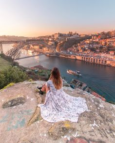 10 Best Sunset Spots In Porto Spain And Portugal, Portugal Travel, Algarve, Travel Pictures, Travel Photos, Best Places In Portugal, Best Instagram Photos, Roadtrip, Travel Photography