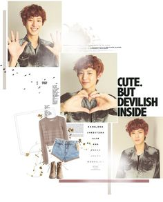 """""""Exo-K. ChanYeol."""" by jinsil97 on Polyvore"""