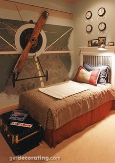 pilot themed bedroom - Google Search