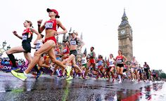 Big Ben! Parliament! #marathon  #Olympics #London2012