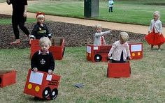 WITH TRAINS TOO!  This Blog is awesome, tons of really cool party ideas