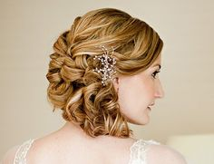 """If you're going to pick a fairly sculpted """"up-do"""" this is the way to go!"""