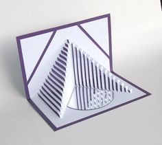 Pop Up 3D Card STAIRS TO SUCCESS Home Décor Handmade by BoldFolds, $25.00