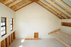 Interior of 10x10 chicken coop
