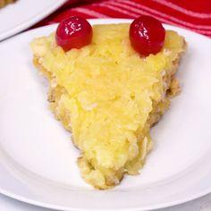 Fools Cake Pineapple Coconut Dump Cake. Use GF cake mix.