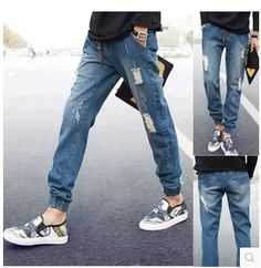 (27.31$)  Buy here - http://aiz0d.worlditems.win/all/product.php?id=32370578620 - Han Edition Cultivate One's Morality Spring 2015 New Men Jeans Feet Beam Foot Trousers Young Japanese Tide Brand Haroun Jeans