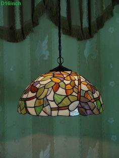 Leaf Tiffany Lamp 16S36-18P11