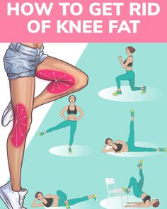 How to Get Rid of Knee Fat with Effective Exercises at Home - - Want to have sexy slim legs, try the workout below! The exercises will help to get rid of knee fat and make your legs look fabulous! Try and enjoy the results! Source by claudestegmille Leg Workout At Home, Gym Workout For Beginners, Workout Videos, At Home Workouts, Easy Workouts, Mommy Workout, Toning Workouts, Workout Plans, Workout Fitness