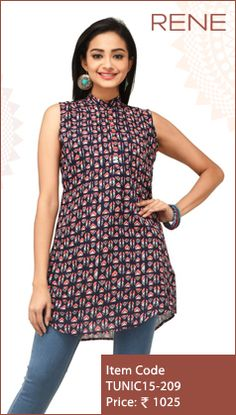 #Tunics #Trendy #Smart #WesternWear #Women #Fashion #Unique #Flipkart #Snapdeal #ReneIndia