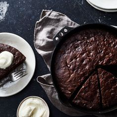 Dark Chocolate-Olive Oil Skillet Banana Bread recipe on Food52