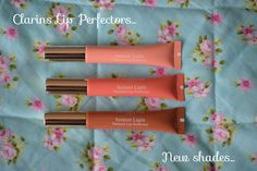Beauty In The Mirror: Clarins / New Lip Perfector Shades...