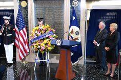 Secretary Tillerson Honors Fallen American Foreign Service Workers… Rex Tillerson, 2016 Presidential Election, Secretary, Presidents, American, Fall, Autumn, Fall Season