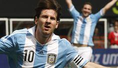 Hat trick de Leo Messi ante Brasil - junio 2012