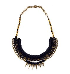 erie black necklace // andrea bocchio // $98