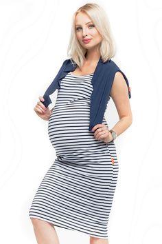 Bílé těhotenské šaty na kojení s námořnickým motivem Bodycon Dress, Dresses, Fashion, Vestidos, Moda, Body Con, Fashion Styles, Dress, Fashion Illustrations
