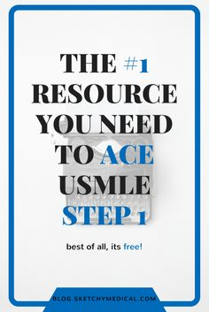 best usmle step 1 study resource - check out this post for tips and tricks on how to ace the usmle step 1
