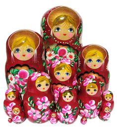 Russian Nesting Dolls...I've always loved these things!