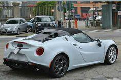 Alfa Romeo 4c Spider Hardtop