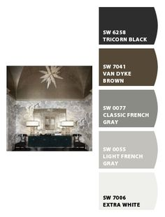 LIGHT FRENCH GRAY by Sherwin-Williams INTERIOR PAINT LIGHT GRAY PAINT MEDIUM GRAY PAINT