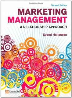 I'm selling Marketing Management: A Relationship Approach by Svend Hollensen - $30.00 #onselz