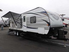 2016 New Forest River SALEM 27 RLSS, 1 SLIDE, REAR LOUNGE, POWER PACKAGE Travel Trailer in California CA.Recreational Vehicle, rv, WE DO NOT CHARGE FOR PDI OR PREP FEE'S LIKE MOST OTHER DEALER'S! NEW 2016 FOREST RIVER SALEM 27 RLSS MODEL PULL TRAVEL TRAILER, 28 FT LONG, 1 LIVING ROOM SUPER SLIDE OUT, DRY WEIGHT 6372 LBS, HALF TON TOWABLE! DUAL ENTRY DOORS, REAR LOUNGE CHAIRS WITH LARGE REAR BAY WINDOW, FRONT PRIVATE BEDROOM WITH WALK AROUND QUEEN BED, AM/FM/CD/DVD PLAYER WITH INTERIOR AND…