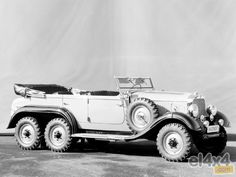 Mercedes Benz 6x6 G4 W series 31, 1934/1939 - Rally 4x4 noticias eventos foros todoterreno videos fotos dakar