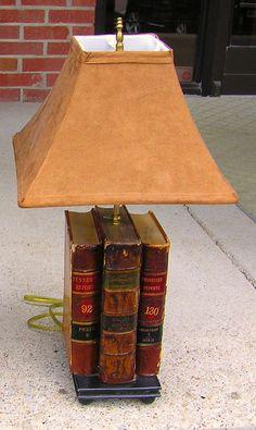 Antique Law Books Lamp | Antiques.com |