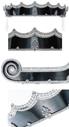 More images, and more info from the ever-brilliant Ursula at royal magazin. https://royal-magazin.de/german/fuerstenberg/steel-tiara-cartier-fuerstenberg.htm