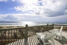 Check out this beautiful view of the Atlantic Ocean from Hatteras, NC! www.obxmasterbuil...