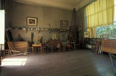 I could live here, This was Cezanne's Studio.