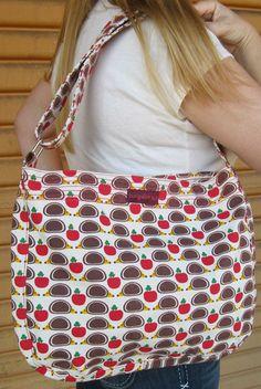 Bungalow360 Lucille Hedgehog Vegan Messenger Bag