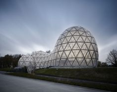 Gallery of Dinosaur Theme Park Entrance Building / rimpf ARCHITEKTUR - 1
