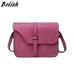 Vintage Spring Women Nubuck Leather Sling Crossbody Bag For Women     Tag a friend who would love this!     FREE Shipping Worldwide | Brunei's largest e-commerce site.    Get it here ---> https://mybruneistore.com/2017-fashion-womens-handbag-bag-small-crossbody-bags-vintage-spring-women-shoulder-bag-nubuck-leather-women-bag/