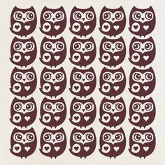 Owl Pattern Detail | Flickr - Photo Sharing!