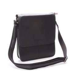 #taška #doklady Představujeme vám luxusní koženou tašku Hexagona v černém provedení. Elegantní taška na doklady a další různé potřebné věci je vyrobena z hovězí kůže té nejvyšší kvality. Taška je příjemně úzká, velice dobře se nosí. Součástí je nastavitelný nastavitelný textilní popruh s koženým páskem.