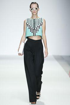 Holly Fulton collection printemps-été 2015 #mode #fashion