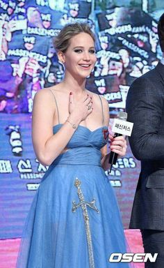 Jennifer Lawrence at Passengers South Korea Premeire