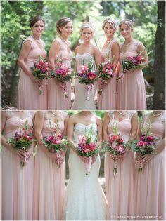 newlyweds, tux, white suit, strathcona park, sage, pale pink bridesmaid, blush…