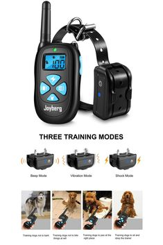 Shock Collar For Dogs Joyberg Dog Training Collar With 1450 Foot Range Waterproof Rechargeable For Small Medium Large Dogs With Beep Vibration Shock Modes Dog Training Tools, Best Dog Training, Large Dogs, Small Dogs, Dog Shock Collar, Dog Pee, Training Collar, Best Dogs, Collars