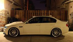 "BMW M3 E90 with 21"" BBS RX II"