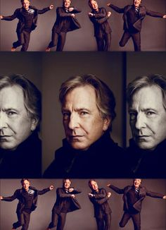 Alan Rickman - These are from a Jan 2008 edition of LA Magazine - Mark Hauser, photographer.