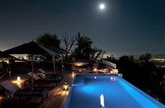 Casa Colleverde in the night ..Liguria..Italy
