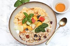 new on our breakfast menu: breakfast bowl. Breakfast Lunch Dinner, Breakfast Bowls, Small Boutique Hotels, Vienna Hotel, Hotel Guest, Bakery, Healthy Recipes, Food, Bread Store