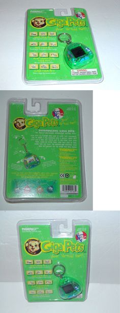 Giga Pets 158701: Giga Pets Cyber Kitty Electronic Pet Cat By Tiger Electronics Kfc 1997 New -> BUY IT NOW ONLY: $32 on eBay!