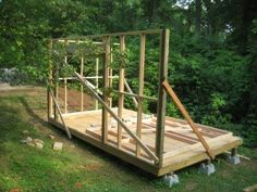 UPDATE! Complete Shed plans are now available. Check out the latest post on diyatlantamodern.... here: I just completed the first phase of my shed project. I found inspiration, t…