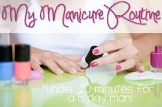 Fast and Easy DIY Manicure at Home